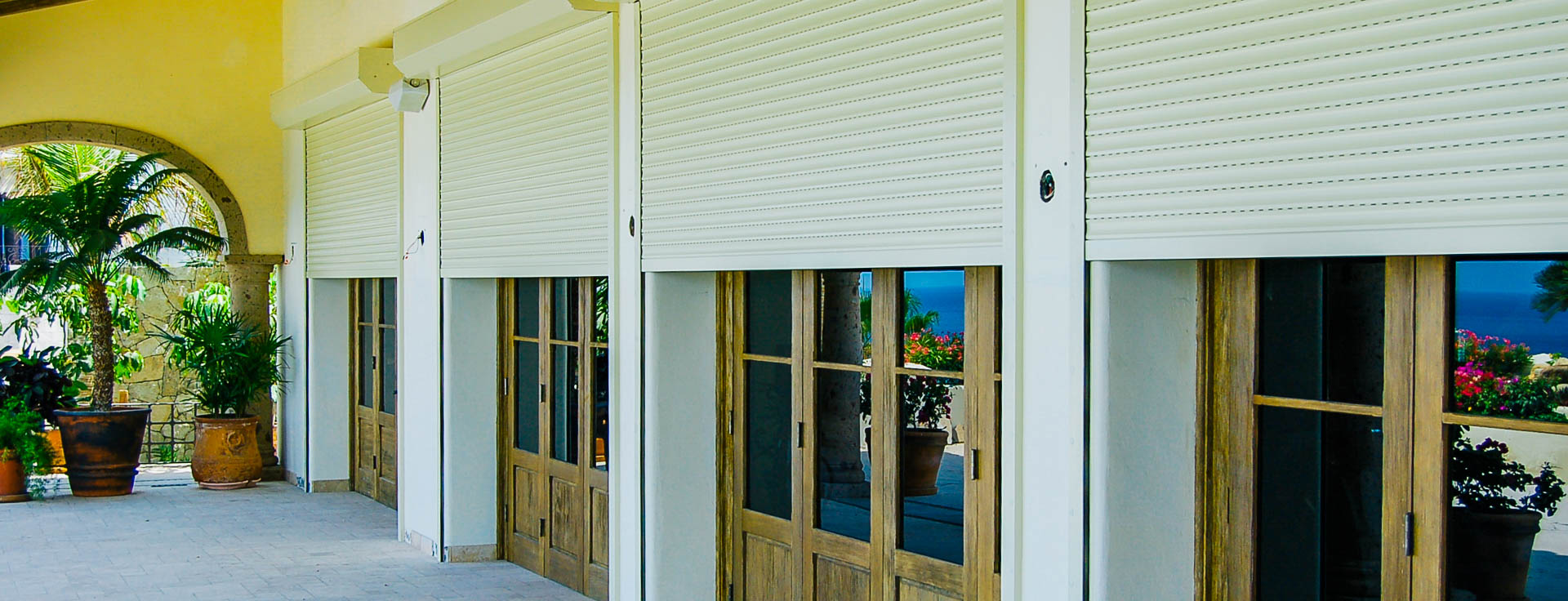Cabo San Lucas Roll Down Shutters Maximum Storm Protection
